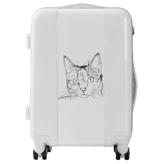 Sketch Cat Luggage