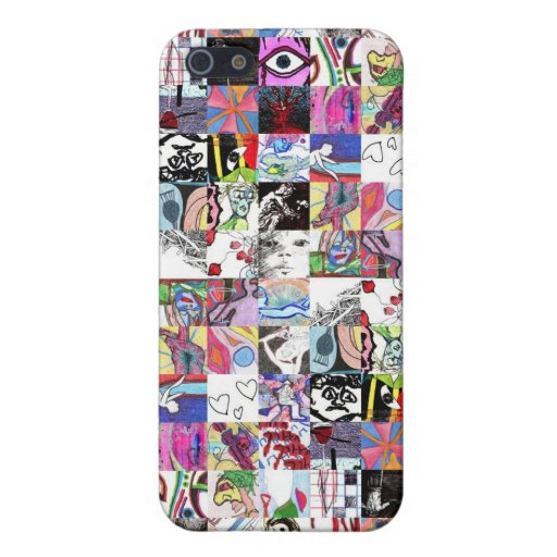 Sketch Collage Iphone 5 case