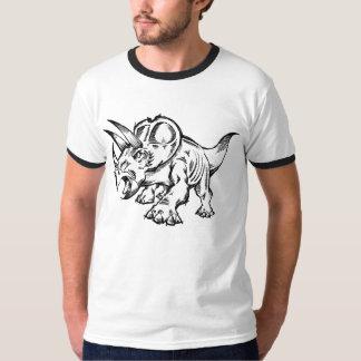 Sketch Doodle Triceratops Dinosaur T-shirt