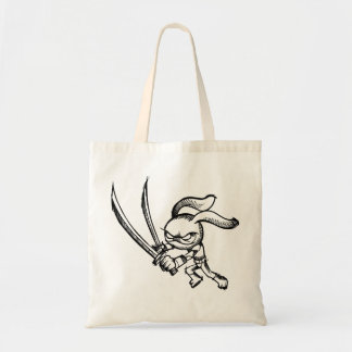 Sketch Doodle Warrior Ninja   Bag