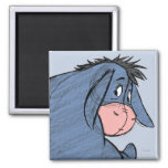 Sketch Eeyore 1 2 Inch Square Magnet
