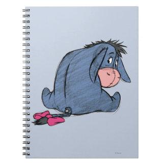 Sketch Eeyore 1 Spiral Note Book