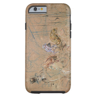 Sketch for 'At the Masked Ball', c.1892 (coloured Tough iPhone 6 Case