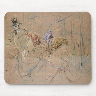 Sketch for 'At the Masked Ball', c.1892 (coloured Mouse Pad