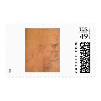 Sketch for Leonardo da Vinci s Last supper Stamps