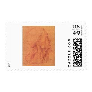 sketch for Leonardo da Vinci s Last supper Postage