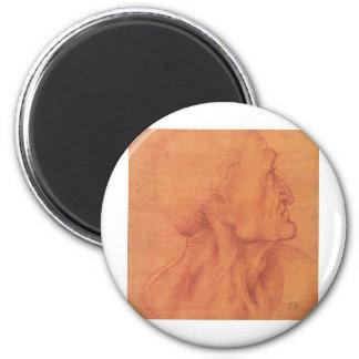sketch for Leonardo da Vinci's Last supper. Magnet