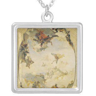 Sketch for The Apotheosis of the Pisani Family Silver Plated Necklace