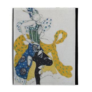 Sketch for the ballet 'La Peri', by Paul Dukas iPad Case
