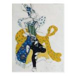 Sketch for the ballet 'La Peri' Post Card