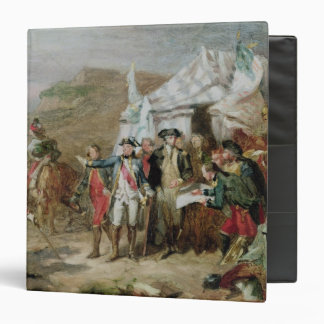 Sketch for the Battle of Yorktown Binder