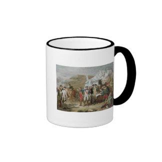 Sketch for the Battle of Yorktown Ringer Mug