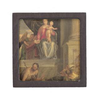 Sketch for the Bevilacqua Altarpiece Keepsake Box
