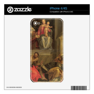 Sketch for the Bevilacqua Altarpiece Skins For iPhone 4S