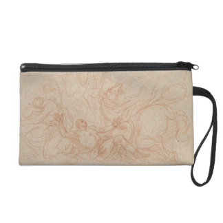 Sketch for the Conversion of St. Paul for the dome Wristlet Purse