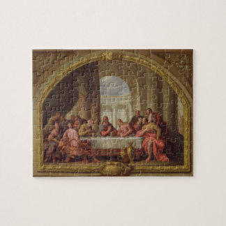 Sketch for 'The Last Supper', St. Mary's, Weymouth Jigsaw Puzzle