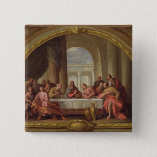 Sketch for 'The Last Supper', St. Mary's, Weymouth Pinback Button