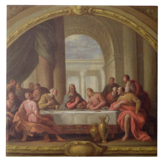 Sketch for 'The Last Supper', St. Mary's, Weymouth Tile