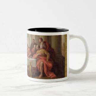 Sketch for 'The Last Supper', St. Mary's, Weymouth Two-Tone Coffee Mug
