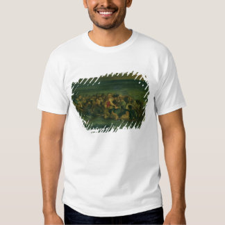 Sketch for The Shipwreck of Don Juan, 1839 (see al T-shirt
