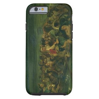 Sketch for The Shipwreck of Don Juan, 1839 (see al Tough iPhone 6 Case