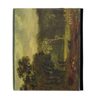 Sketch from Nature in Sion Park, 1819 (oil on card iPad Folio Cover