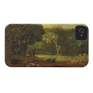 Sketch from Nature in Sion Park, 1819 (oil on card Case-Mate iPhone 4 Cases