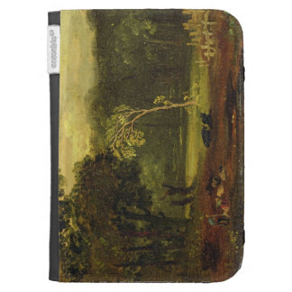 Sketch from Nature in Sion Park, 1819 (oil on card Kindle 3G Case