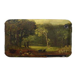 Sketch from Nature in Sion Park, 1819 (oil on card iPhone 3 Cover