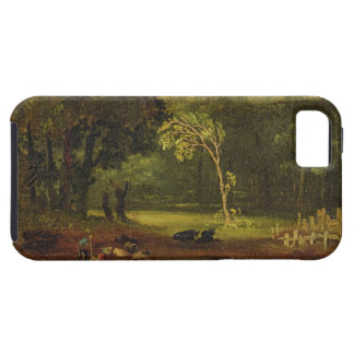 Sketch from Nature in Sion Park, 1819 (oil on card iPhone 5 Cover
