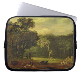 Sketch from Nature in Sion Park, 1819 (oil on card Laptop Computer Sleeve