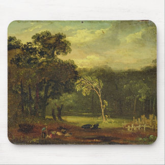 Sketch from Nature in Sion Park, 1819 (oil on card Mouse Pad