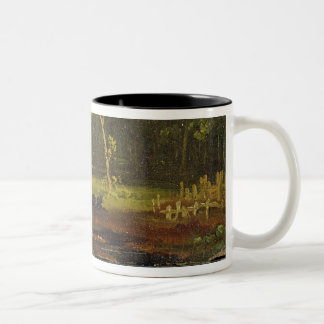 Sketch from Nature in Sion Park, 1819 (oil on card Two-Tone Coffee Mug