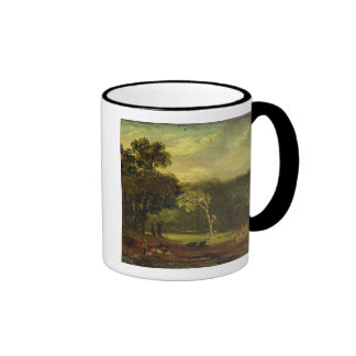 Sketch from Nature in Sion Park, 1819 (oil on card Ringer Coffee Mug