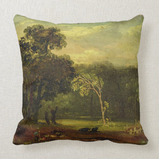 Sketch from Nature in Sion Park, 1819 (oil on card Pillows