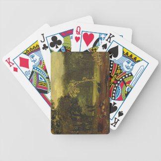 Sketch from Nature in Sion Park, 1819 (oil on card Bicycle Playing Cards