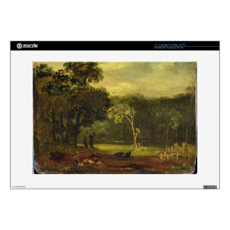 """Sketch from Nature in Sion Park, 1819 (oil on card Skins For 15"""" Laptops"""