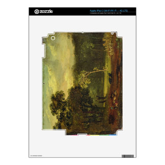 Sketch from Nature in Sion Park, 1819 (oil on card Decals For iPad 3