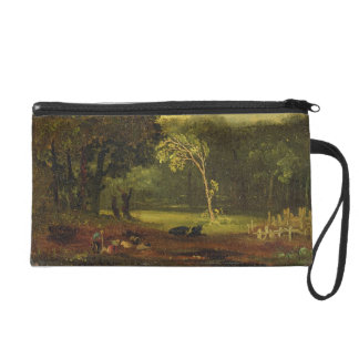 Sketch from Nature in Sion Park, 1819 (oil on card Wristlet Purse