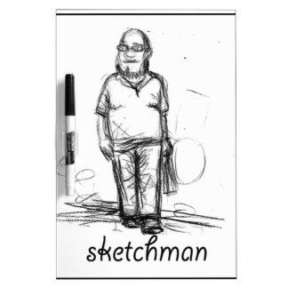 sketch man dry erase board