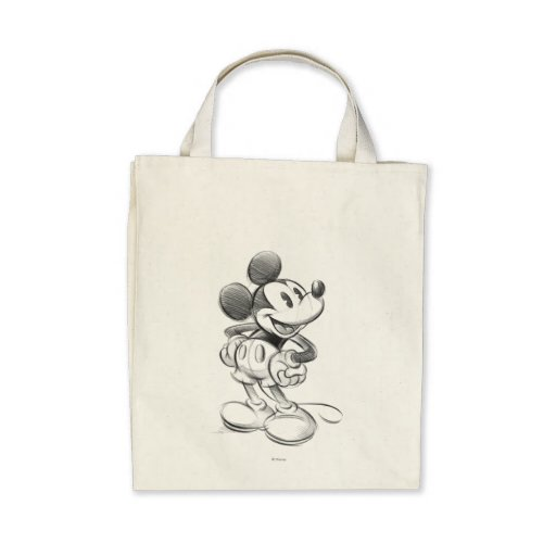Sketch Mickey Mouse Bag
