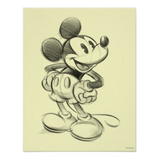 Sketch Mickey Mouse