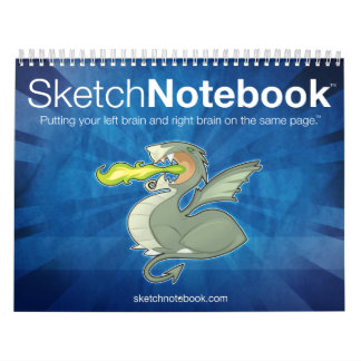 Sketch Notebook Calendar