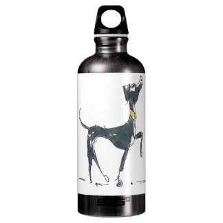 Sketch of a Dog Liberty Aluminum Water Bottle