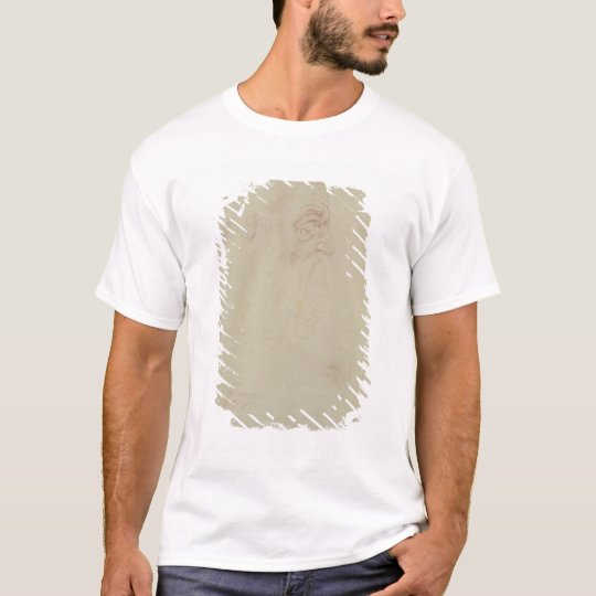 Sketch of a male head and two legs T-Shirt