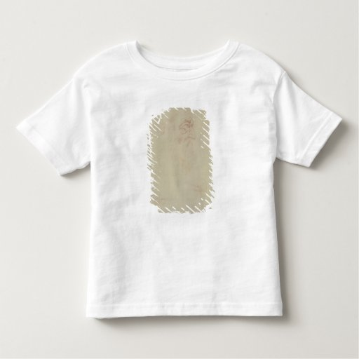 Sketch of a male head and two legs toddler t-shirt