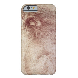 Sketch of a roaring lion (red chalk on paper) barely there iPhone 6 case