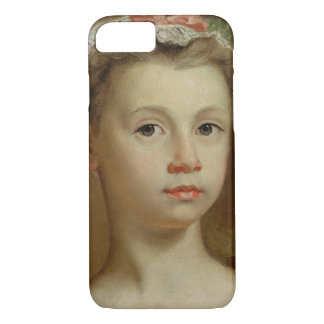 Sketch of a Young Girl, c.1730-40 (oil on canvas) iPhone 7 Case
