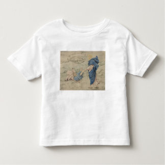 Sketch of Christ Walking on Water (w/c on paper) Toddler T-shirt