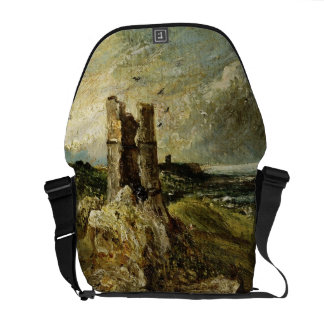 Sketch of Hadleigh Castle (recto) (oil on millboar Messenger Bags